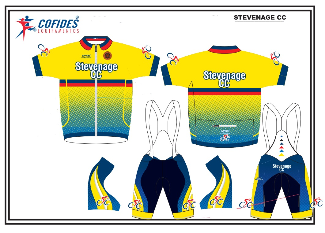 Stevenage Cycling Club Kit